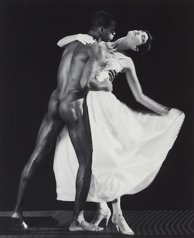 Robert Mapplethorpe; Thomas and Dovana;