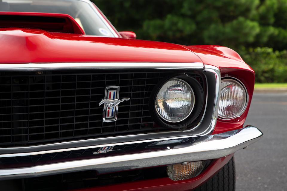 <b>1969 Ford Mustang Boss 429  </b><br />Chassis no. 9F02Z172937 <br />Kar Kraft no. 1680