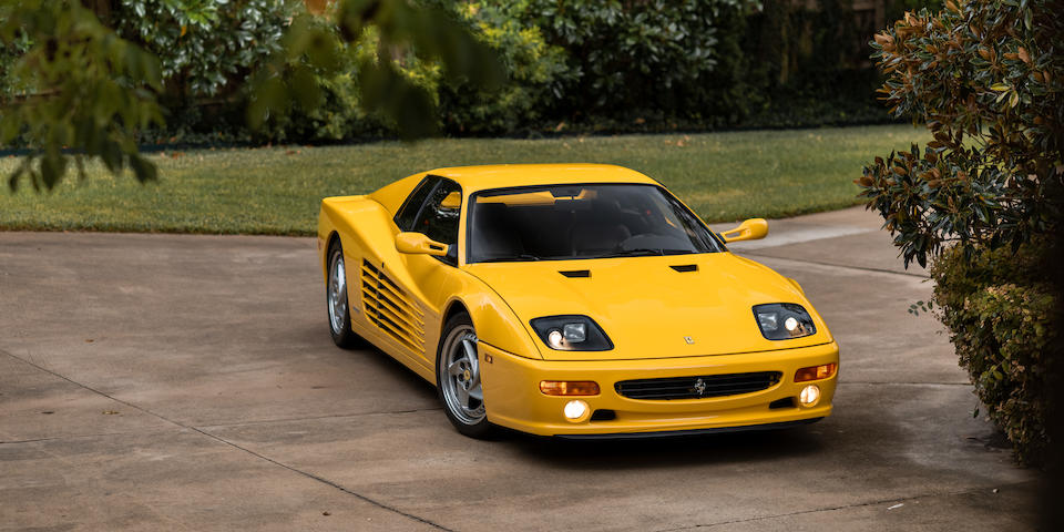 <b>1995 Ferrari  F512 M</b><br />  VIN. ZFFVG40A2S0100154 <br />Engine no. 161524