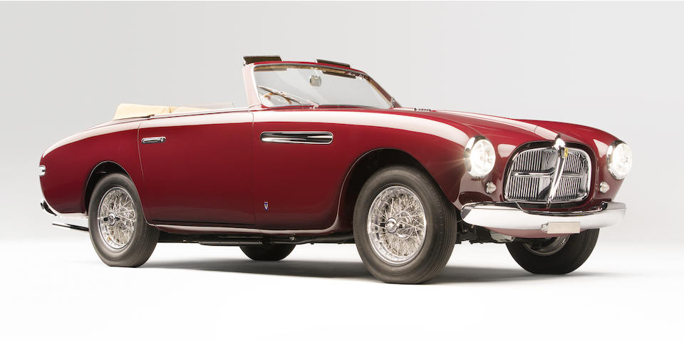 <b>1951 Ferrari 212 Inter Cabriolet</b><br />  Chassis no. 0159E <br />Engine no. 0159E