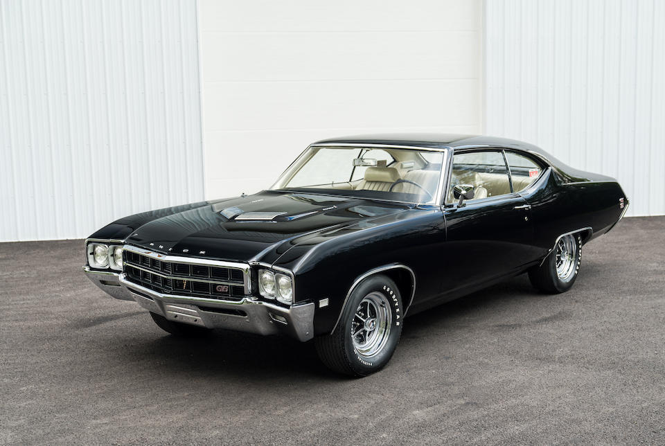<b>1969 Buick GS 400 Stage 1</b><br />Chassis no. 446379H160303<br />