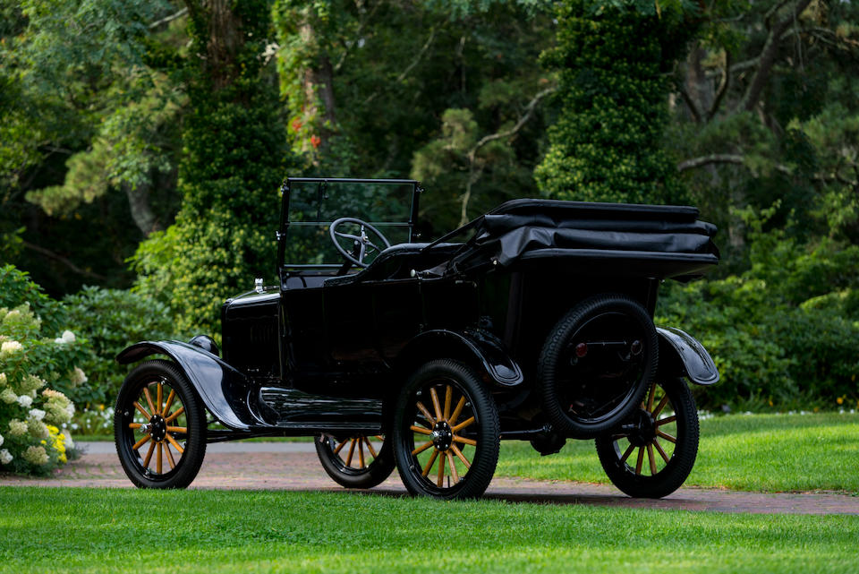 <b>1922 Ford Model T Touring</b><br />  Engine no. 1085771<br />