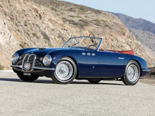 <b>1951 Maserati A6G/2000 Spider</b><br />  Chassis no. 2017 <br />Engine no. 2013 (see text)