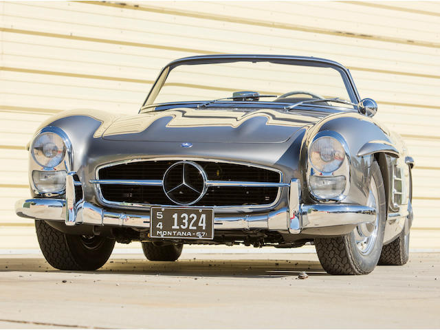 <b>1957 Mercedes-Benz 300SL Roadster</b><br />  Chassis no. 198.042.7500081 <br />Engine no. 198.980.7500097