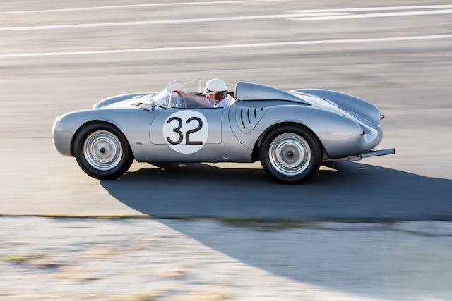 <b>1958 Porsche 550A Spyder</b><br />  Chassis no. 550A-0145 <br />Engine no. P90127