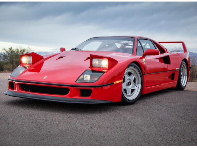 <b>1991 Ferrari F40 </b><br /> VIN. ZFFMN34A8M0088374 <br />Engine no. 26308