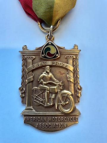 An AMA First Prize Medal
