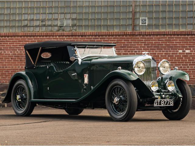 <B>1931  Bentley 8-Liter Tourer</B><BR />Chassis no. YF 5013<BR />Engine no. YF 5013