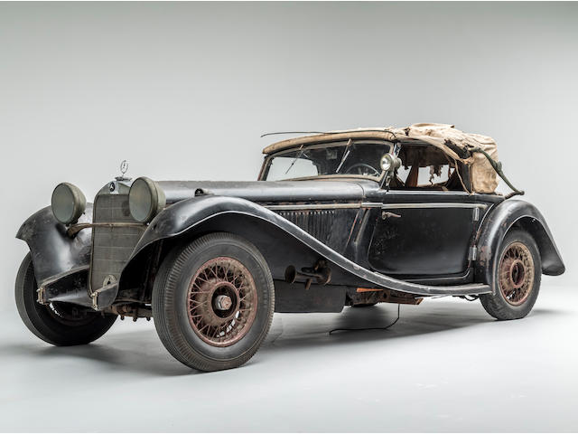 <b>1935 Mercedes-Benz 290 Cabriolet A  </b><br />Engine no. 101829.352