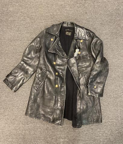 Vintage Stanbar Leather Duster