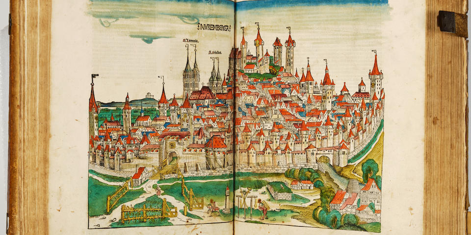 Nuremberg Chronicle - Schedel, Hartmann – Liber chronicarum. - Nuremberg: Anton Koberger, Dec 23, 1493 – Folio.