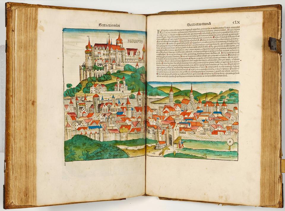 Nuremberg Chronicle - Schedel, Hartmann – Liber chronicarum. - Nuremberg: Anton Koberger, Dec 23, 1493 – Folio.