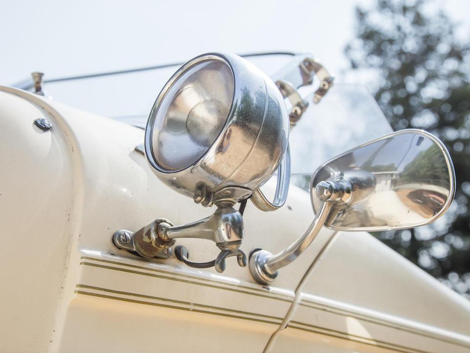 <b>1936 Auburn 852 Boattail Speedster Replica  </b><br />Chassis no. 2850559