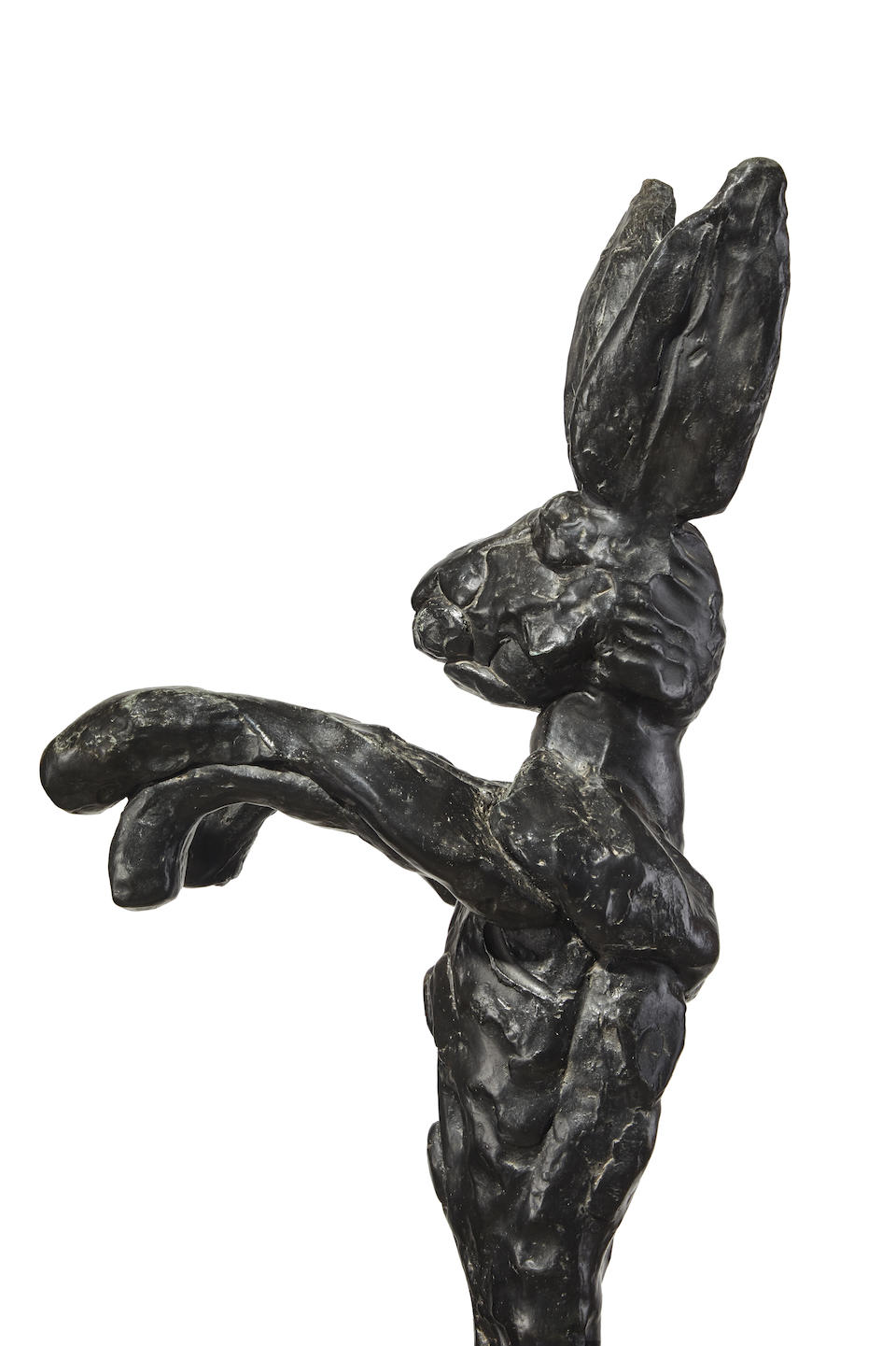 Barry Flanagan (British, 1941-2009) Large Boxing Hare on Anvil 1984