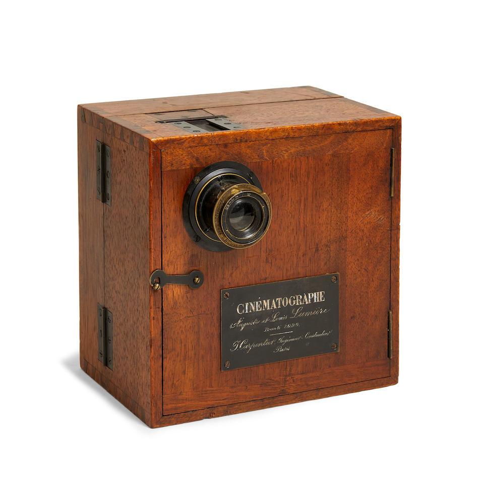 LUMIÈRE CINEMATOGRAPHIC COLLECTION, CIRCA 1896 AN EXTREMELY EARLY EXAMPLE Cinématographe, No 145, J. Carpentier, Paris, c.1896, J. Carpentier,