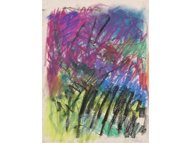 Joan Mitchell (American, 1926-1992) Untitled 1983
