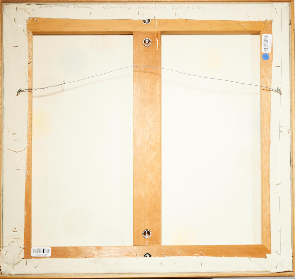 Thomas Downing (American, 1928-1985) Ring Three Saranac1971