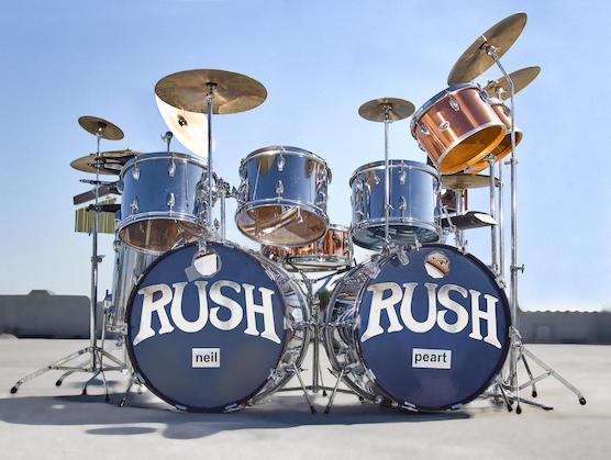News: Rush to Bonhams As Neil Peart's Drum Kit Sells For Five Times The Estimate
