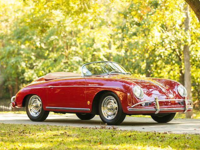 <b>1958 Porsche 356A 1600 T2 Speedster</b>   <br />Chassis no. 84140 <br />Engine no. 67739