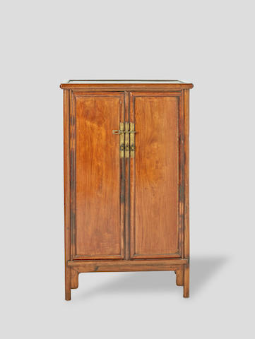 Huanghuali and mixed hardwood Cabinet 19th century