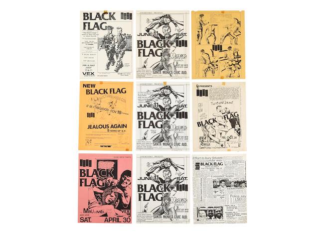 BLACK FLAG / RAYMOND PETTIBON ARCHIVE 1981-1985