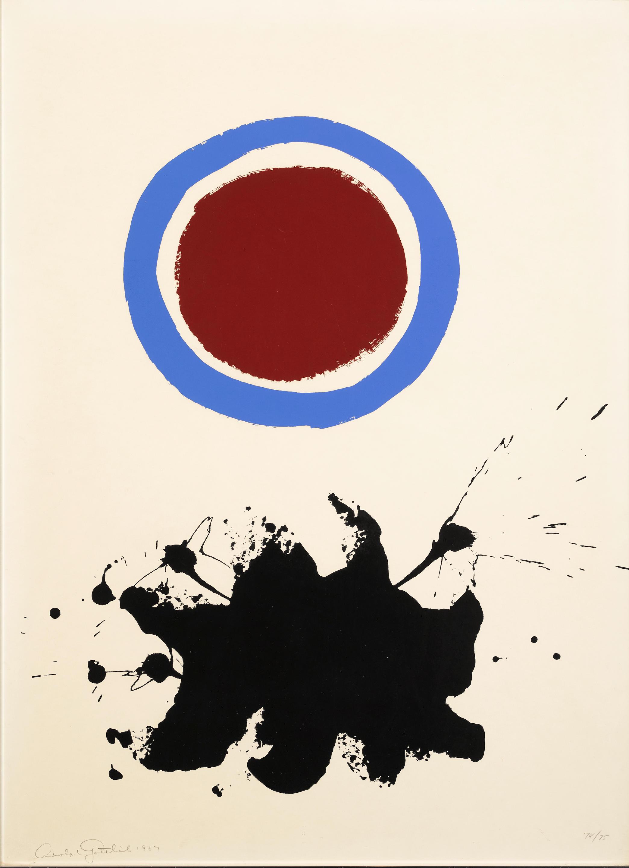 Adolph Gottlieb (1903-1974); Blue Halo;