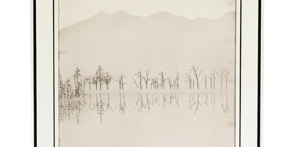 Snow Landscape By Sochiro Tomioka (1922-1994)