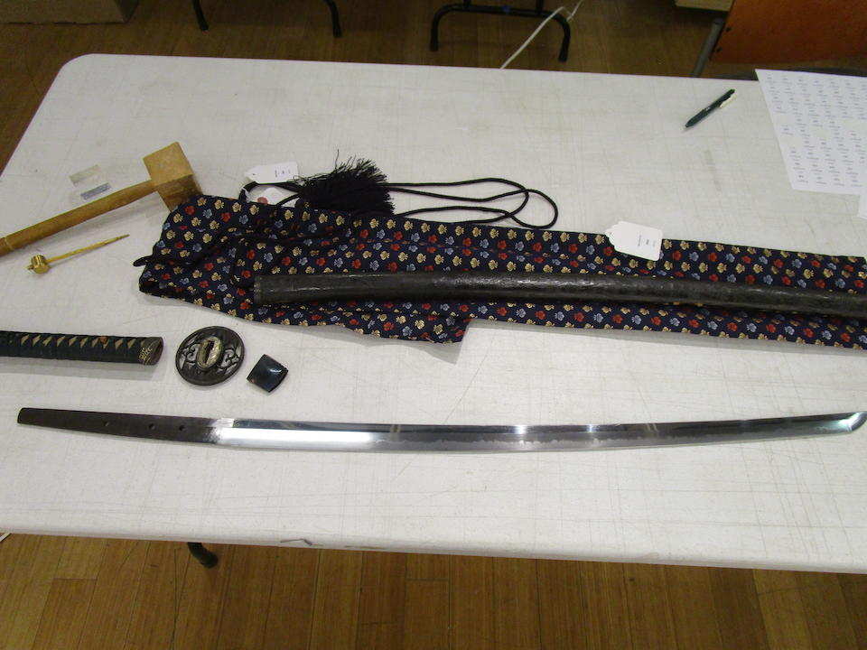 Tadatsuna I (active circa 1658-1661) An Awataguchi katana in mountsEdo period (1615-1868), circa 1660