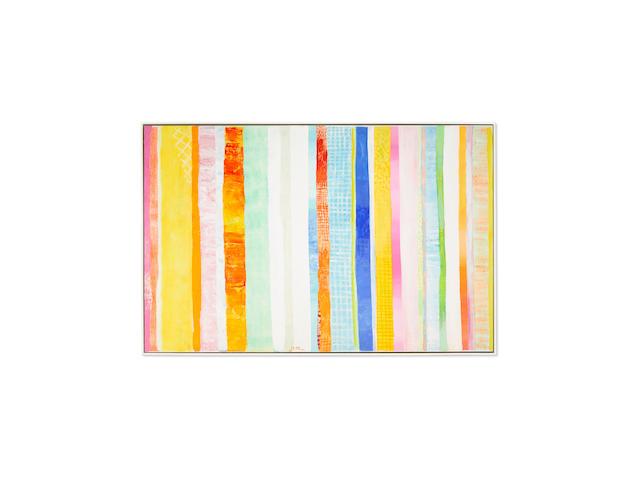Robert Natkin (1930-2010) Untitled (Apollo Series)circa 1975acrylic on canvas, signed 'Natkin' lower center48 x 74in (121.9 x 188cm)