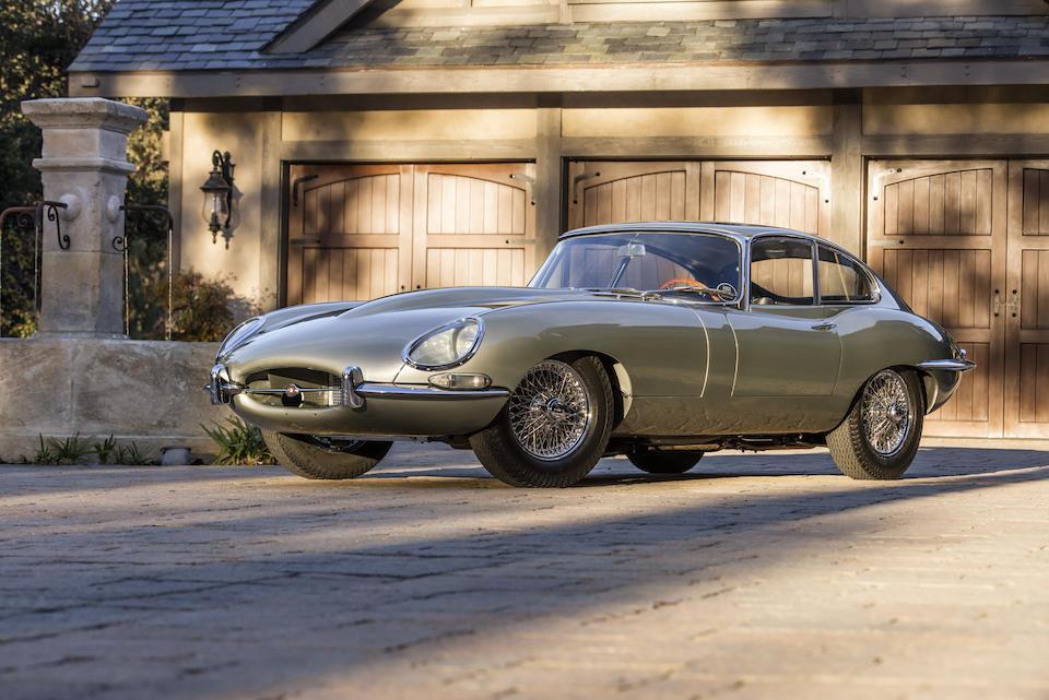 <b>1966 Jaguar E-Type Series I 4.2 </b>  <br />Chassis no. 1E32420 <br />Engine no. 7E7367-9