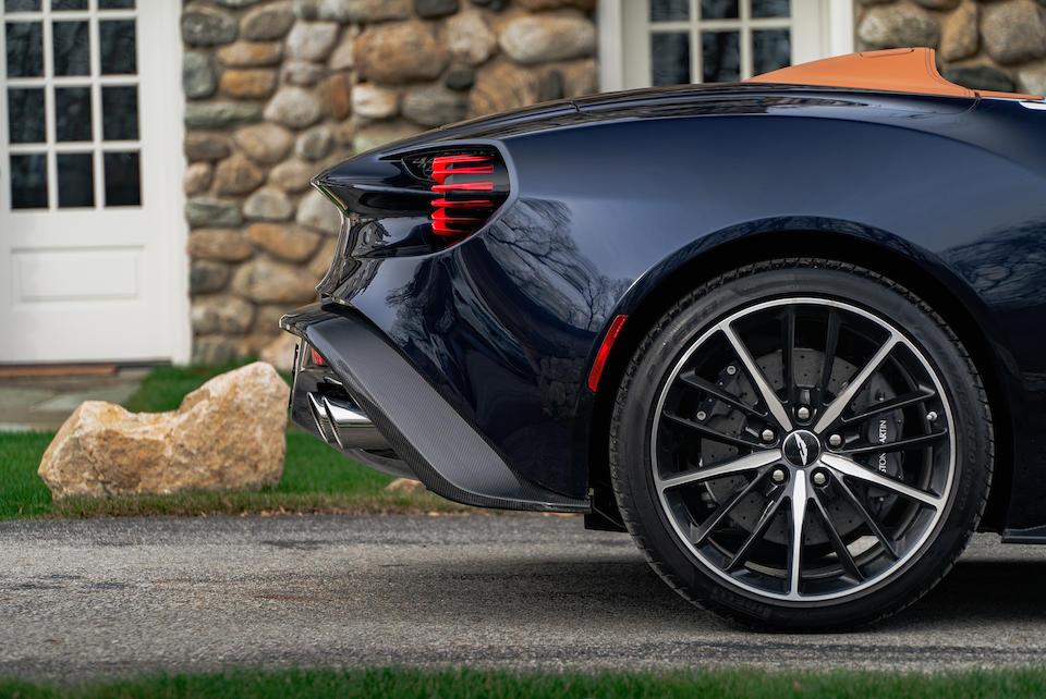 <b>2018 Aston Martin Vanquish Zagato Volante</b><br />VIN. SCFPMCRZ3JGK34150  <br />Engine no. AM27/50644