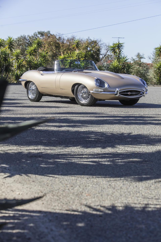 <b>1966 Jaguar E-Type Series I 4.2 Roadster  </b><br />Chassis no. 1E12333 <br />Engine no. 7E74609 (see catalog)