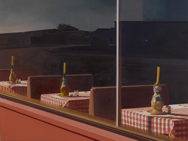 JOHN REGISTER (1936-1996) Oxnard Pizza, 1978