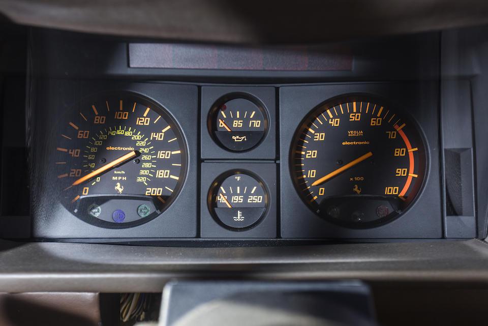 <b>1986 Ferrari  Testarossa </b><br />VIN. ZFFSA17A0G0065811