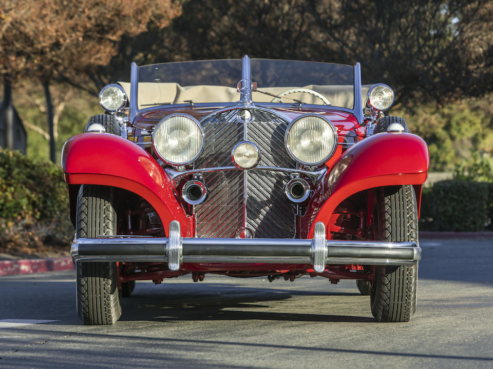 <b>1939 Mercedes-Benz 540K Special Cabriolet A  </b><br />Chassis no. 408371 <br />Engine no. 10124019.10.408371