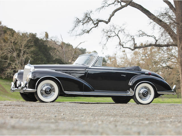 <b>1956 Mercedes-Benz 300Sc Roadster  </b><br />Chassis no. 188015.5500016 <br />Engine no. 199.980.5500019