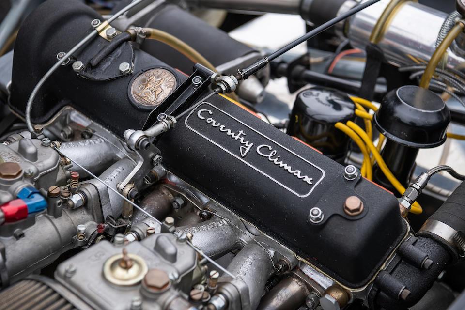 <b>1959 Elva MK IV Sports Racer  </b><br />Chassis no. 4L100/61 <br />Engine no. FWA400.20.9162