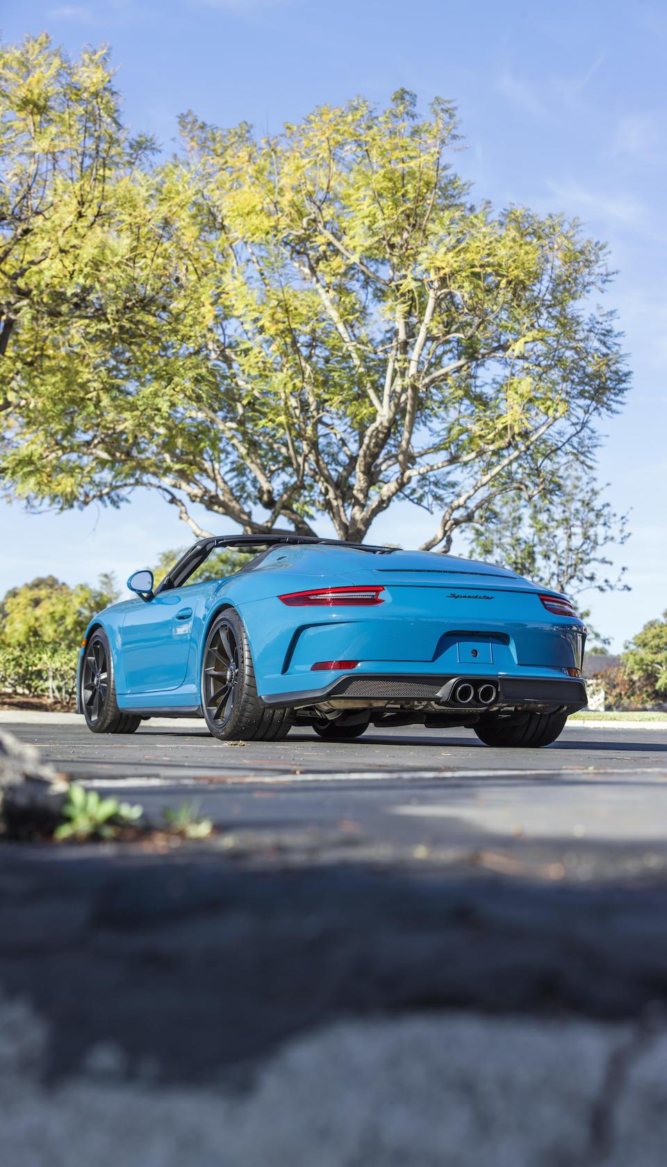 <b>2019 Porsche 911 Speedster </b><br />VIN. WP0CF2A99KS172412
