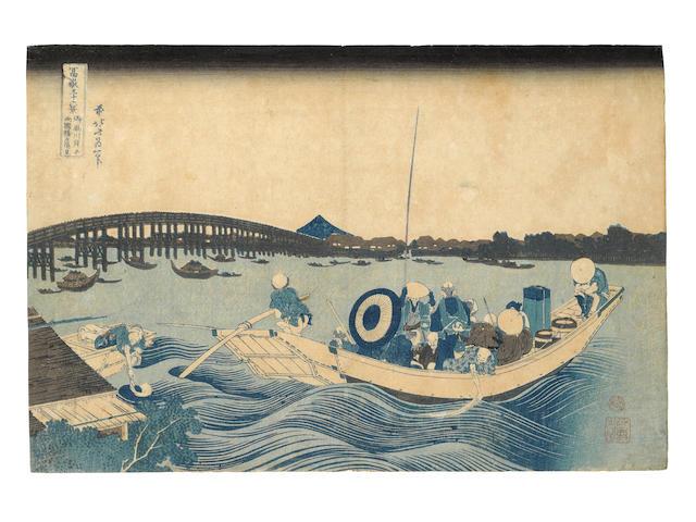 KATSUSHIKA HOKUSAI (1760-1849) Edo period (1615-1868), circa 1830-1831