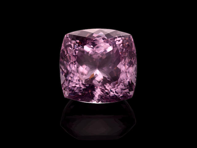 Large and Very Fine, Vivid Pink Kunzite