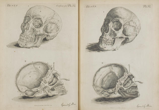 BELL, JOHN. 1763-1820. A group of 5 works in 9 volumes,