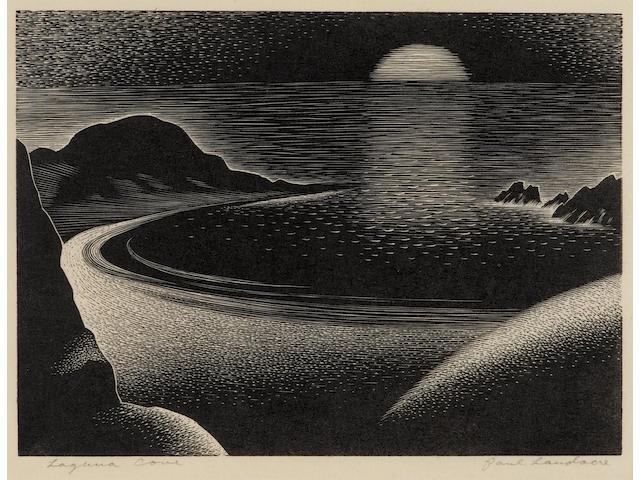 Paul Landacre (1893-1963); Laguna Cove;