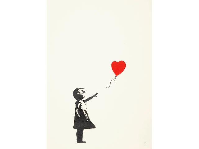Banksy (born 1975); Girl with Balloon;
