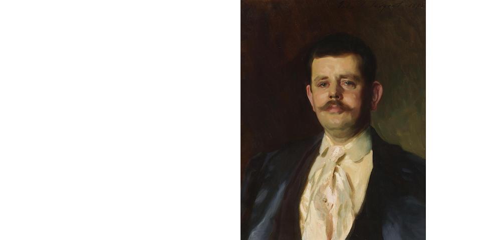 John Singer Sargent (1856-1925) Gardiner Greene Hammond, Jr. 26 1/2 X 20 3/4in (67.3 x 52.7cm) (Painted in 1895.)