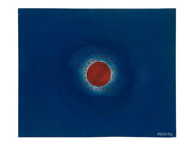 YAYOI KUSAMA (B. 1929) Sun 1953