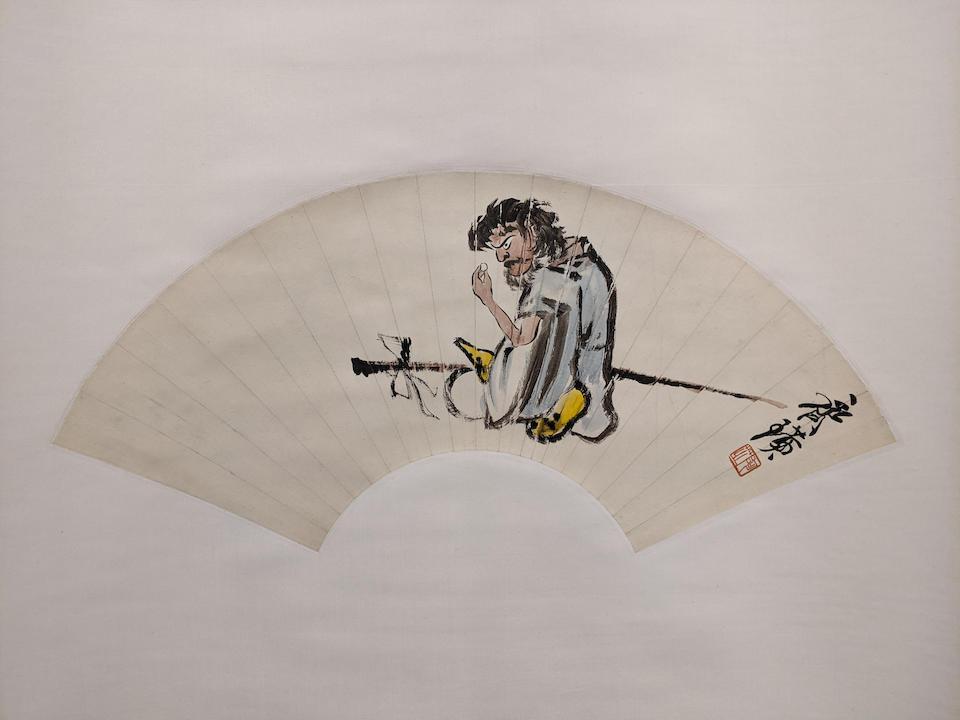 Qi Baishi (1864-1957)  Li Tieguai