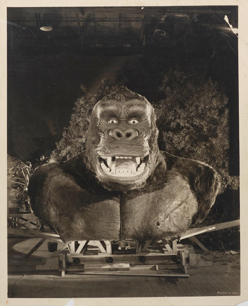 A King Kong large archive of photographs