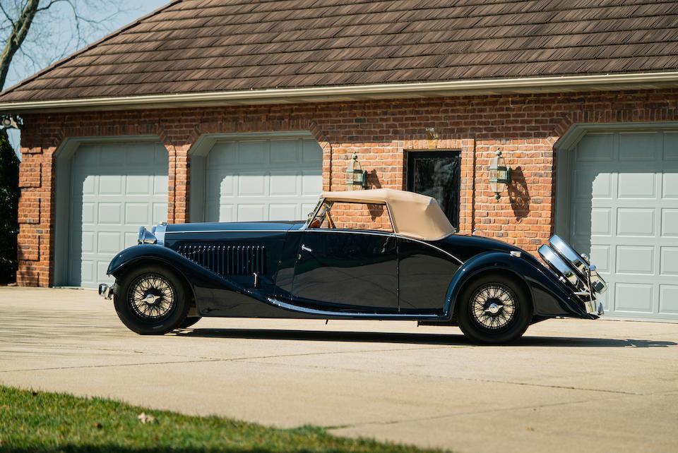 <b>1934 Bugatti Type 57 Cabriolet  </b><br />Chassis no. 57127 <br />Engine no. 52