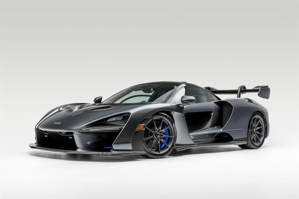 2019 McLaren Senna  VIN. SBM15ACA1KW800197