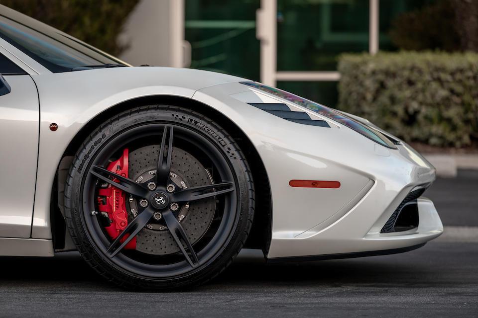 2015 Ferrari  458 Speciale  VIN. ZFF75VFA8F0205623